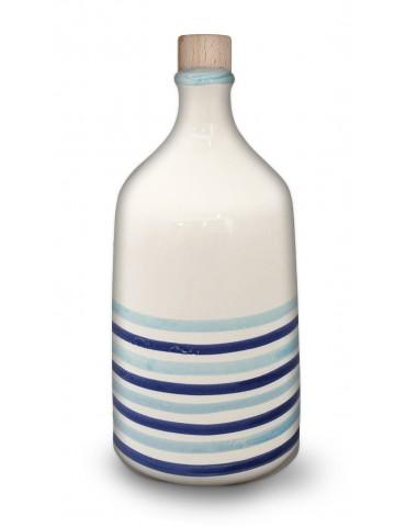 Bottiglia a fasce per olio...